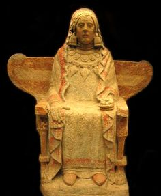 La Dama de Baza. 4th century BCE.