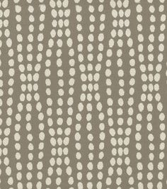 (on Joann website, they have this in reverse, white with grey dots) Upholstery Fabric- Waverly Strands/Sterling : upholstery fabric : Joann.com
