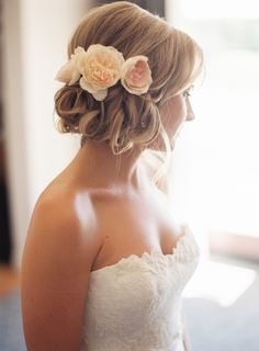 #hairstyles  Photography: Braedon Photography - braedonphotography.com  Read More: http://www.stylemepretty.com/2014/05/29/rustic-pastel-affair-at-ojai-valley-inn-spa/
