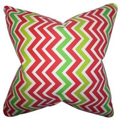 The Pillow Collection Howel Zigzag Bedding Sham