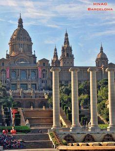 MNAC - Museo Nacional d'Art de Catalunya in Barcelona.