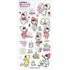 Pony Brown My Little Friend Petit Point Stickers (◕ᴥ◕) Kawaii Panda - Making Life Cuter