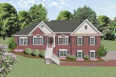 HOUSE PLANS COUNTRY STYLE RANCH