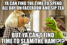 Well...i guess you and miss piggy have a lot in common...you both married a frog who doesn't wanna sleep with you