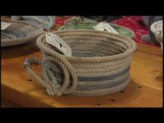 Ken Wilshire visits a couple in Cornersville who make beautiful baskets out of old lariats.