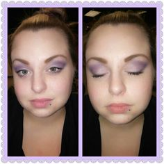 Lilac daytime look