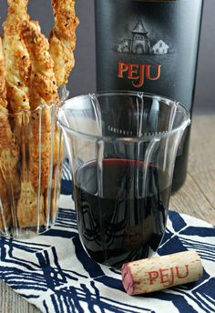 French Cheese Straws + Peju Wines } I want to try Peju Provence wine ...