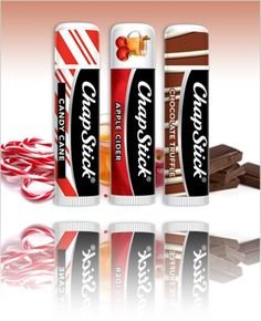 I stock up on the candy cane ones every Christmas. Chapstick Apple Cider, Chocolate Truffle, and Candy Cane Flavors for Holiday 2012 Chapstick Lip Balm, Eos Lip Balm, Lip Balms, Avon Lip Gloss, Crayola, Baby Lips, Chocolate Truffles, Lip Care, Candy Cane