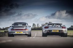 Porsche 993 GT2 & Carrera GT[1200x801] via Classy Bro