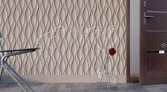 Flame  Используя декоративные панели Flame, можно сформировать легкий ненавязчивый рисунок, что позволяет применять их для декорирования всех стен в помещении. Материал идеально подойдет для любой комнаты в доме, в том числе для просторной прихожей. Панели стоит дополнить широкими бордюрами и наличниками для дверей.