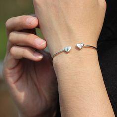 Dainty Bracelets, Bangle Bracelets, Bangles, Jewelry For Her, Gold Jewelry, Jewellery, Meaningful Jewelry, Bikini Outfits, Personalized Bridesmaid Gifts