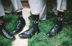 Beatles Wedding 'All You Need Is Love' socks