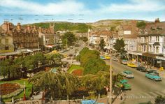 Mostyn Street, Llandudno, Wales In The 1970s