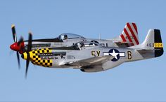 P-51 Mustangs.  Any pilot's dream plane...  certainly mine.