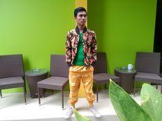 Jaket flower Joger pans #batik #sasirangan