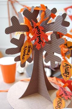 Hostess with the Mostess® - Thanksgiving Children's Table