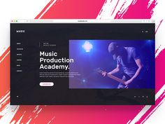 Music slider concept by Binh Le