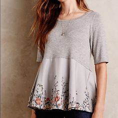 NWOT Anthropologie Moth Pullover - XS Brand new, never worn, tags removed because it was a gift. Anthropologie Tops