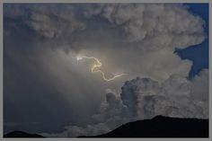 Atardecer con rayo - Valle del Basa - Huesca | Flickr - Photo Sharing!