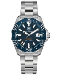 Search results for: 'tag heuer aquaracer automatic men s blue dial stainless steel bracelet watch' Tag Heuer, Cool Watches, Watches For Men, Tag Watches, Latest Watches, Swiss Army Watches, Beautiful Watches, Elegant Watches, Stylish Watches