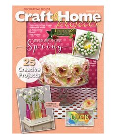 Love this Craft & Home Projects Magazine Subscription on #zulily! #zulilyfinds