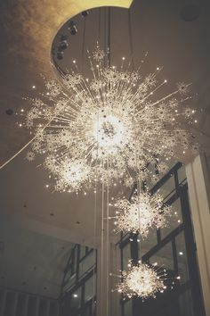 The chandeliers at the Metropolitan Opera are perfect.