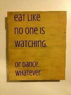 Eat Like No Other....