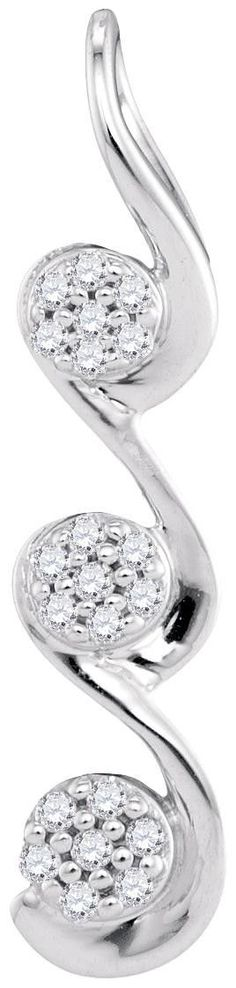 1-20CTW-Diamond MICRO-PAVE PENDANT