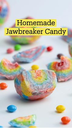 Fun Baking Recipes, Sweet Recipes, Dessert Recipes, Cooking Recipes, Jawbreaker Candy, Delicious Desserts, Yummy Food, Homemade Candies, Diy Food