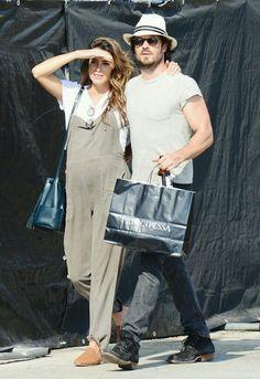 Ian Somerhalder and Nikki Reed (July 09, 2017) in Los Angeles, Calif.