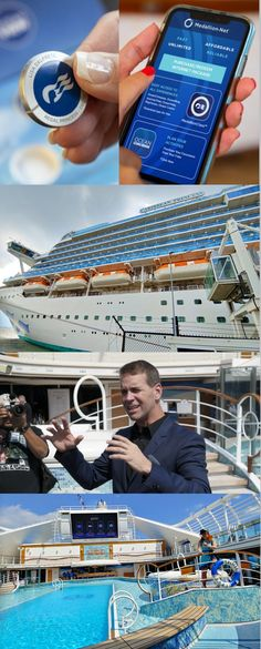 Explore the next wave of vacation travel. Princess MedallionClass™ keeps you connected, right from your wrist, for an experience you won't find anywhere else. Princess Cruises, Order Food, Kiosk, Vacation Trips, Geeks, Mobile App, Caribbean, Innovation, Carnival