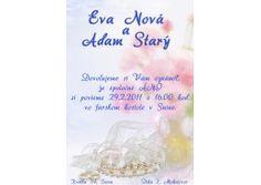 Svadobné oznámenie - SV001