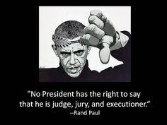 What Rand Paul said.   :)
