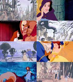 Beauty and the Beast. my first all time favorite from my childhood Walt Disney, Deco Disney, Disney Girls, Disney Love, Disney Magic, Disney Stuff, Disney And Dreamworks, Disney Pixar, Disney Princesses And Princes