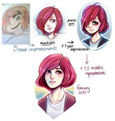 Art Improvement. Since you were happy to see the first.. I tried it out again c:  Click for more Funny Pictures --> http://www.funnypicshub.com