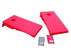 Driveway Games All Weather Corntoss Bean Bag  Game - RED by Driveway Games. $94.99. From the Manufacturer                Driveway Games (CT-GM-00137 RED) All-Weather Corntoss Bean Bag Game™ is the Top of the Line, most durable, official size bean bag game on the market that is perfect for backyards, tailgating, beach trips, camping and anywhere you go                                    Product Description                146835 Color: Red Features: -Material: 50pct HDPE Pl...
