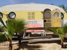 Desert {vintage trailer}