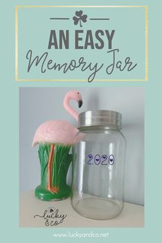 An Easy Memory Jar