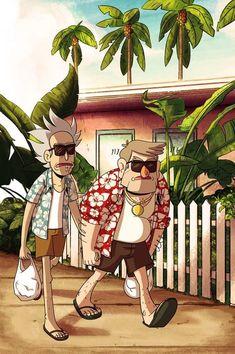 Gravity Falls × Rick and Morty Cartoon Cartoon, Rick And Morty Crossover, Rick I Morty, Rick And Morty Poster, Dope Wallpapers, Hypebeast Wallpaper, Cartoon Crossovers, Cartoon Wallpaper, Cool Art