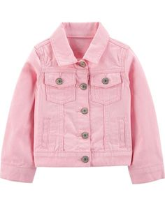 dfdeafa37f8b Toddler Girl Twill Jacket from Carters.com. Shop clothing   accessories  from a trusted