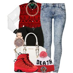 Death, created by oh-aurora on Polyvore