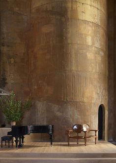 Converted cement factory from turn of century, in Barcelona, Spain. The Factory / Ricardo Bofill