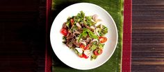 Learn How to Make Nam Tok Nuo (Spicy Beef Salad)