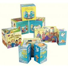 These colourful and educational cubes are a unique and exciting way to engage young children in key messages. The clever design will inspire and amaze everyone who opens it. For children aged Clever Design, Christian Faith, Cubes, Kids Learning, Christianity, Prayers, Education, Children, Spiritual
