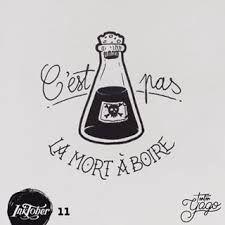 Resultado de imagen para poison flask tattoo