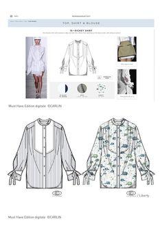 Carlin Group - La chemise vu par Carlin et l'Institut Marangoni - Tendance Prêt à porter - PE2017 - Tendances (#612684)