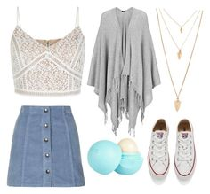 """""""Casual Beauty"""" by annekev on Polyvore featuring Topshop, Joseph, Converse, Forever 21 and River Island"""