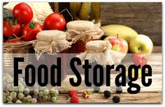 Don't know where to start when beginning your food storage? Start with these 5 steps...
