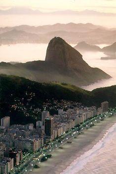 Rio de Janeiro, Copacabana Beach, Sugarloaf
