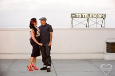 Griffith Observatory! Contact me to get more info about shooting an engagement shoot here! http://baplove.com/contact